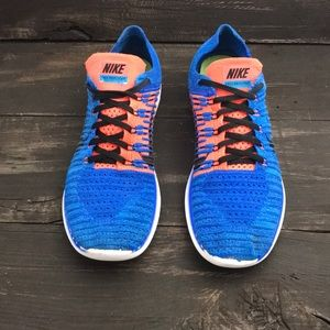 Nike Free RN Flyknit Running Shoes Size 9